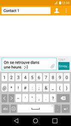 LG K4 - Contact, Appels, SMS/MMS - Envoyer un SMS - Étape 9