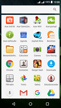 Acer Liquid Zest 4G Plus - Internet - internetten - Stap 2