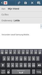 Samsung Galaxy Core LTE - E-mail - Hoe te versturen - Stap 9