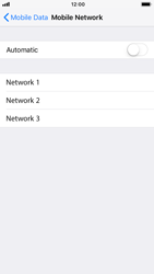 Apple iPhone 6s - iOS 12 - Network - Manually select a network - Step 6