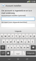 Sony D2005 Xperia E1 - E-mail - Account instellen (POP3 zonder SMTP-verificatie) - Stap 17