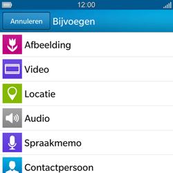 BlackBerry Q5 - MMS - afbeeldingen verzenden - Stap 9