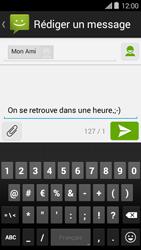 Bouygues Telecom Ultym 5 II - Contact, Appels, SMS/MMS - Envoyer un SMS - Étape 9