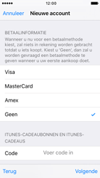 Apple iPhone SE - Applicaties - Account aanmaken - Stap 18
