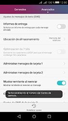 Huawei Y5 II - Mensajería - Configurar el equipo para mensajes de texto - Paso 8