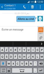 Samsung Galaxy Trend 2 Lite - Contact, Appels, SMS/MMS - Envoyer un SMS - Étape 11