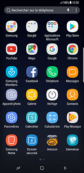 Samsung Galaxy S8 Plus - Internet - navigation sur Internet - Étape 2