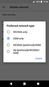 Sony Xperia XA2 Ultra - Network - Enable 4G/LTE - Step 7