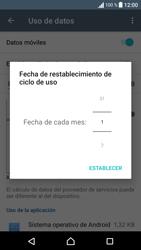 Sony Xperia E5 (F3313) - Internet - Ver uso de datos - Paso 7