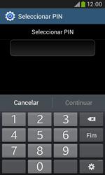 Samsung Galaxy Trend Plus - Segurança - Como ativar o código de bloqueio do ecrã -  8