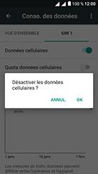 Alcatel U5 - Internet et connexion - Désactiver la connexion Internet - Étape 7
