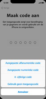 Apple iPhone X - Toestel - Toestel activeren - Stap 13