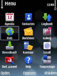 Nokia E75 - Internet - handmatig instellen - Stap 17