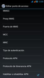 Wiko Stairway - Internet - Configurar Internet - Paso 17
