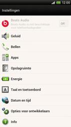 HTC S728e One X Plus - Voicemail - handmatig instellen - Stap 4