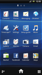 Sony Ericsson Xperia Ray - Mms - Manual configuration - Step 3