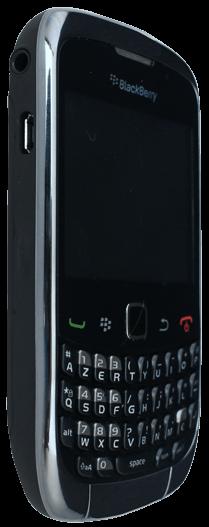 BlackBerry curve 3G - Premiers pas - Découvrir les touches principales - Étape 9