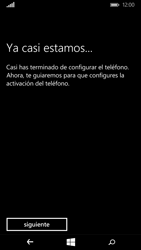 Microsoft Lumia 640 - Primeros pasos - Activar el equipo - Paso 13
