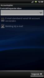 Sony Ericsson Xperia Arc - E-mail - Handmatig instellen - Stap 10