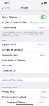 Apple iPhone XR - Rede móvel - Como ativar e desativar uma rede de dados - Etapa 4
