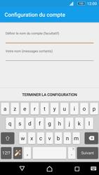 Sony Xperia M5 - E-mail - Configuration manuelle - Étape 21