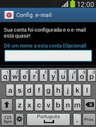 Samsung S5310B Galaxy Pocket Neo - Email - Como configurar seu celular para receber e enviar e-mails - Etapa 21