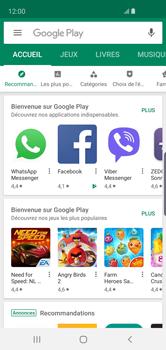 Samsung Galaxy S10e - Applications - comment vérifier si des mises à jour sont disponibles pour l'appli - Étape 5