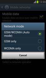 Samsung I8190 Galaxy S III Mini - Network - Change networkmode - Step 8