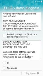 Samsung Galaxy A3 - Primeros pasos - Activar el equipo - Paso 5