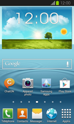 Samsung Galaxy Express - Applications - Supprimer une application - Étape 1