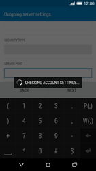HTC One M8 - Email - Manual configuration - Step 17