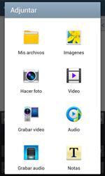 Samsung S7580 Galaxy Trend Plus - E-mail - Escribir y enviar un correo electrónico - Paso 11