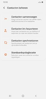 Samsung galaxy-a20e-dual-sim-sm-a202f - Contacten en data - Contacten kopiëren van SIM naar toestel - Stap 6