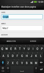 HTC Desire 500 - Internet - Hoe te internetten - Stap 7