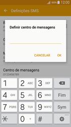 Samsung Galaxy A5 - SMS - Como configurar o centro de mensagens -  8