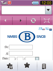 Samsung S7070 Diva - Internet - Navigation sur Internet - Étape 12