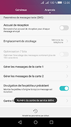 Huawei Y6 II Compact - SMS - configuration manuelle - Étape 7