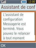Samsung B2100 Xplorer - E-mail - Configuration manuelle - Étape 16