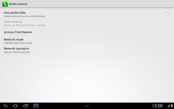 Samsung P5100 Galaxy Tab 2 10-1 - Internet - Manual configuration - Step 6
