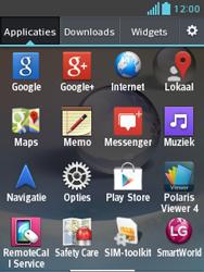 LG E430 Optimus L3 II - WiFi - Handmatig instellen - Stap 4