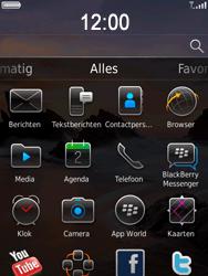 BlackBerry 9800 Torch - SMS - Handmatig instellen - Stap 3