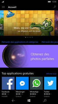 Microsoft Lumia 950 XL - Applications - MyProximus - Étape 4