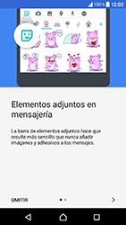 Sony Xperia XA1 - Mensajería - Escribir y enviar un mensaje multimedia - Paso 4