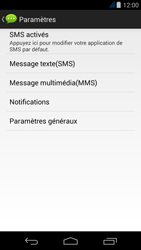 Acer Liquid Jade - SMS - Configuration manuelle - Étape 6