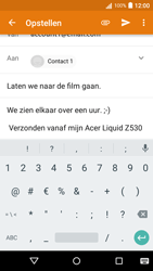 Acer Liquid Z530 - E-mail - Bericht met attachment versturen - Stap 9