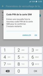 Samsung Galaxy S7 - Sécuriser votre mobile - Personnaliser le code PIN de votre carte SIM - Étape 10