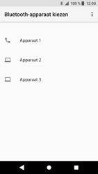 Sony F8331 Xperia XZ - Android Oreo - Contactgegevens overzetten - delen via Bluetooth - Stap 9