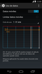 Motorola Moto X (2ª Gen) - Internet - Ver uso de datos - Paso 5