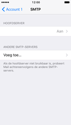 Apple iPhone 5 met iOS 10 (Model A1429) - E-mail - Handmatig instellen - Stap 22
