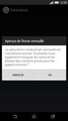 HTC Desire 610 - Sécuriser votre mobile - Activer le code de verrouillage - Étape 11